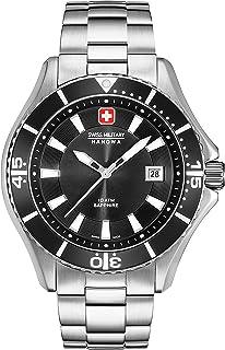 Swiss Military Hanowa - Reloj Analógico para Hombre de Cuarzo con Correa en Acero Inoxidable 06-5296.04.007