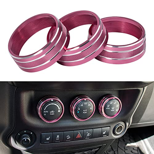 Jeep Accessories Pink