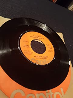 Freddie Hart and the Heartbeats 45 RPM I believe in Santa Claus / Blue Christmas