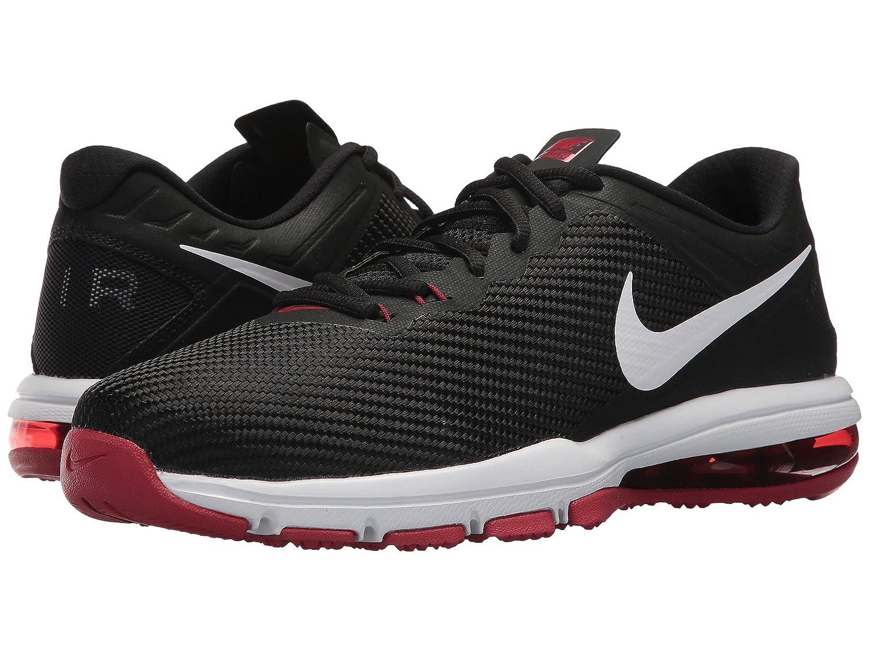 (ナイキ) NIKE メンズランニングシューズ?スニーカー?靴 Air Max Full Ride TR Black/White/Tough Red 9.5 (27.5cm) D - Medium