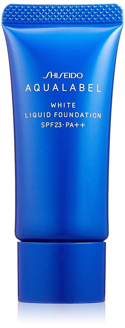 意気揚々収縮種をまくアクアレーベル 美白リキッド オークル20 (SPF23?PA++) 25g