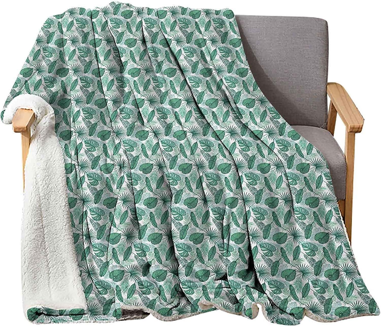 Nashville-Davidson Mall Interestlee Banana Leaf Fleece Blankets 50