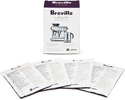 Breville the Coffee Machine Descaler 4pk, Clear, BES0070NAN1