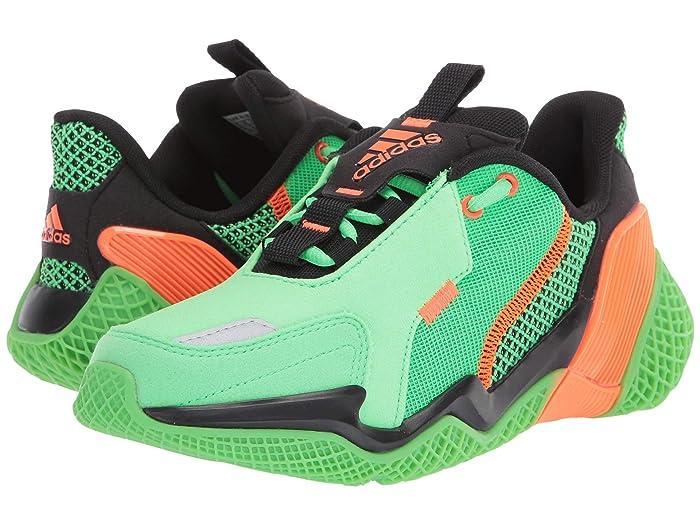adidas Kids  4uture Rnr (Big Kid) (Shock Lime/Solar Orange/Black) Boys Shoes