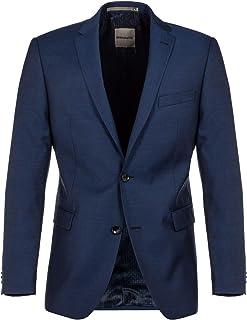 Benvenuto Black - Modern Fit - Men's Construction Kit Jacket Checked Romeo (20914, Model: 62500)