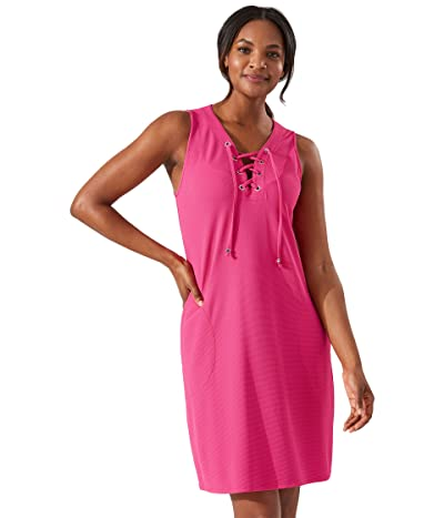 Tommy Bahama Island Cays Lace-Up Spa Dress Cover-Up
