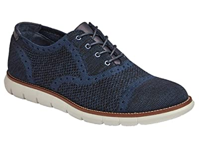 Johnston & Murphy Milson Knit Cap Toe (Dark Navy Knit) Men