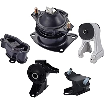 Front and Rear for 2003-2007 Honda Accord 3.0L 2004-2008 Acura TL 3.5L Orion Motor Tech Rear 2004-2006 Acura TL 3.2L Trans Transmission Upper 6pcs Engine Motor Mount Front Right