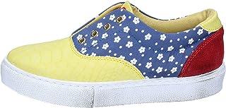 2 STAR Sneaker Donna Tessuto Giallo
