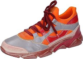 MOMA Sneaker Uomo Pelle Arancione