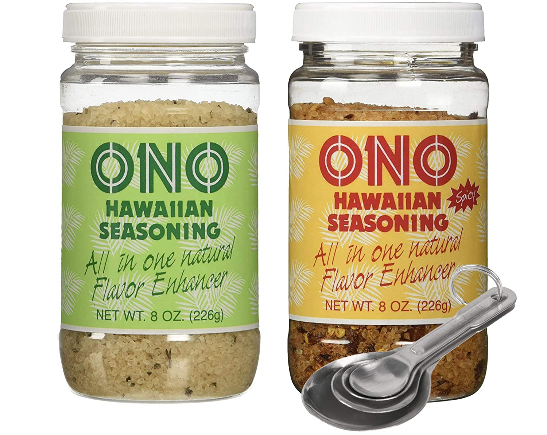 Pack of 2 Free Ranking TOP5 Measuring Ono Hawaiian Super beauty product restock quality top Spoon Combo Seasoning