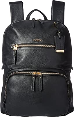 Voyageur Leather Halle Backpack