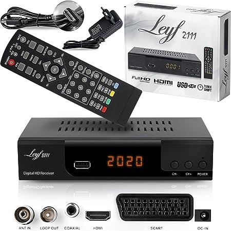 Satelliten- & TV-Receiver Kabelreceiver Auto- Installation Full HD ...
