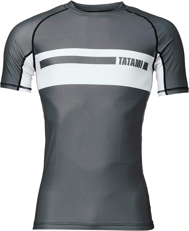 Tatami Fightwear Gallant Short Sleeve Rashguard - Gray