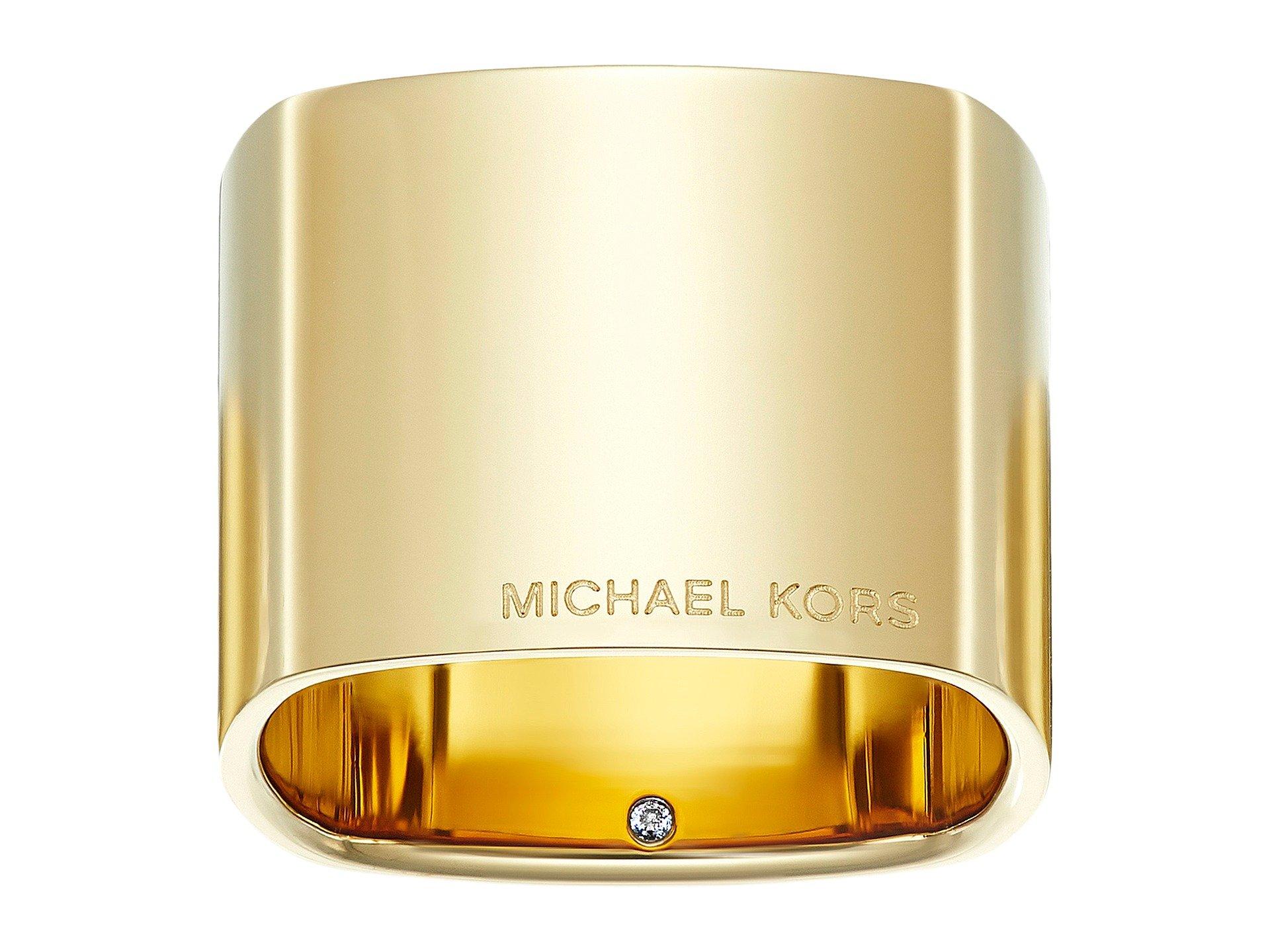 Anillo para Mujer Michael Kors Wide Band Ring  + Michael Kors en VeoyCompro.net