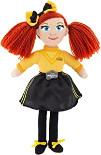 The Wiggles Toys for Toddlers, Emma Mini Plush, 7.8 Inches Tall, Perfect for Collecting, from Popular Kids Music Band The ...