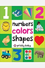 First 100 Padded: Numbers, Colors, Shapes Kindle Edition