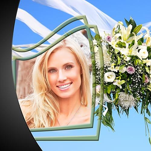 Hochzeitsfoto-Rahmen