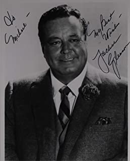 Jackie Gleason (d. 1987) Signed Autographed Vintage Glossy 7x9 Photo - COA Matching Holograms