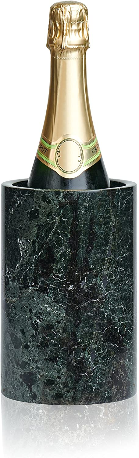 LUXXWARE Premium Black Marble Wine 4.5x4.5x7 - Chiller Enhance 2021 autumn and winter Max 45% OFF new