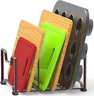 SimpleHouseware Kitchen Houseware Organizer Pantry Rack, Bronze
