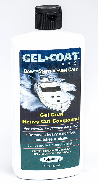 Gel Coat Labs Gel Coat Heavy Cut Compound 16 oz. Bottle