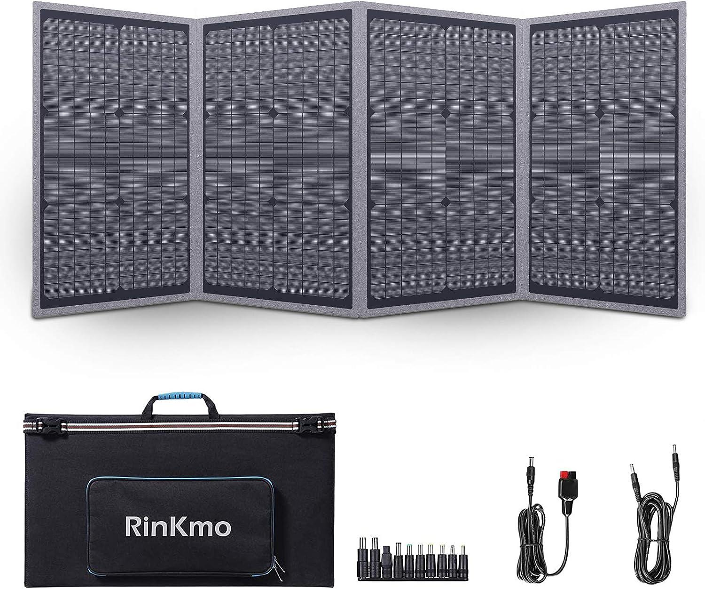 Rinkmo 100W Portable Solar Panels $119.99 Coupon