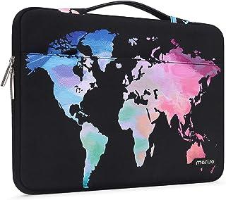 MOSISO Maletín Compatible con 13-13.3 Pulgadas MacBook Air/MacBook Pro Retina/2019 Surface Laptop 3/Surface Book,Funda Bla...