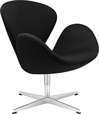 Amazon.com: kardiel Swan Chair, Premium de sarga: Kitchen ...