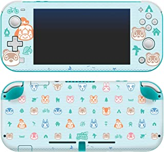 Controller Gear Authentic and Officially Licensed Animal Crossing: New Horizons - Outdoor Pattern - Nintendo Switch Lite S...