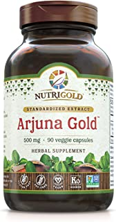 Nutrigold Arjuna Gold, 500 Mg, 90 Veggie Capsules