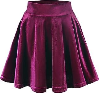 b2abd6e5b079d1 Amazon.fr : Jupe Velours Femme : Vêtements