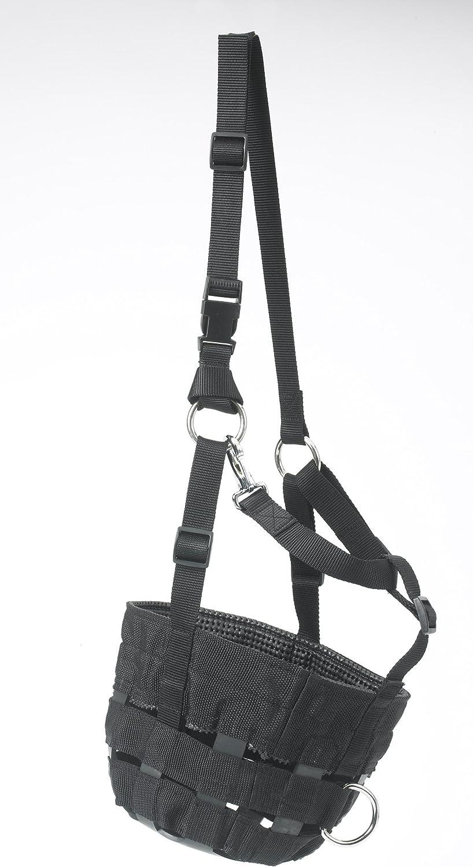 Centaur Adjustable Comfort MuzzlePony Size  Black  Pony
