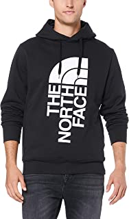 The North Face Men's Trivert Pull Over Hoodie, TNF Black/TNF White