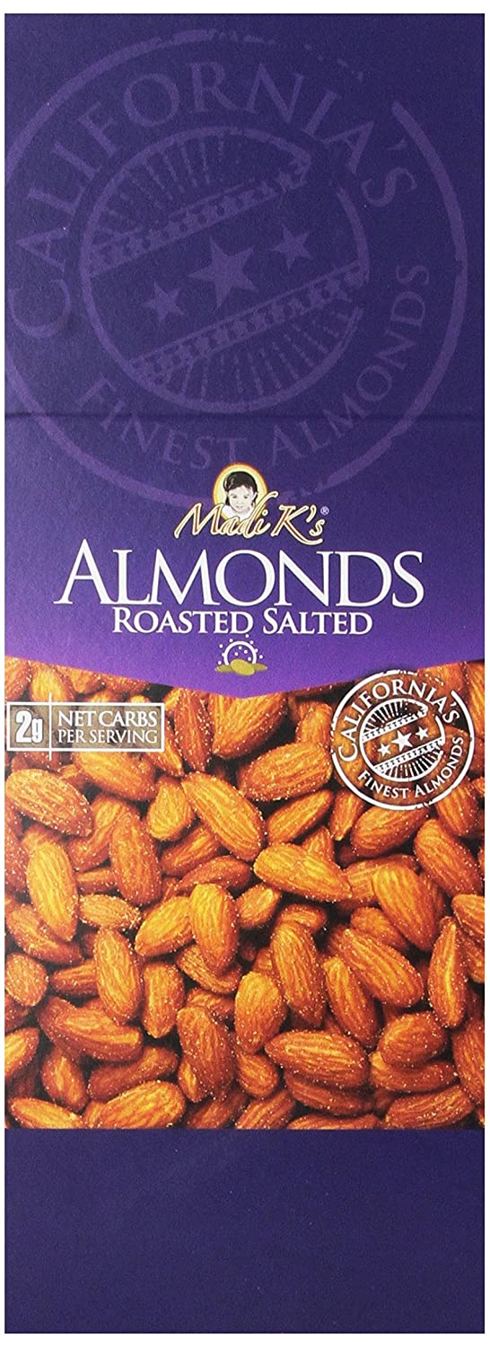 Madi K's Roasted and Salted Almonds gift 36 Very popular! Bags Pack of 2-Ounce