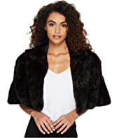 Tahari by ASL - Faux Fur Cape
