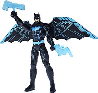 Batman Bat-Tech 12-inch Deluxe Action Figure with Expanding Wings, Lights and Over 20 Sounds and Phrases