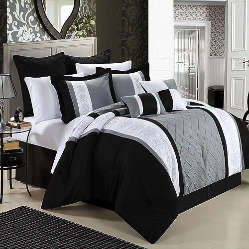 Black And White Bedspreads Amazoncom