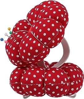 x 1.25h Rose Red Magnetic Pincushion 18111-ROSE RED-NPF FixtureDisplays 4.3Dia