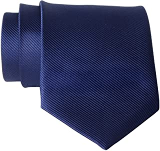 QBSM Mens Solid Polyester Textile Neckties Pure Color Neck Ties