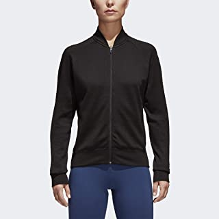 adidas Womens Fitness Training Athletic Jacket