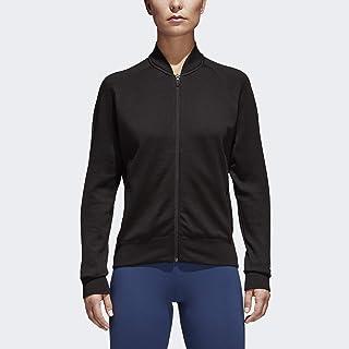 adidas Womens Fitness Training Athletic Jacket