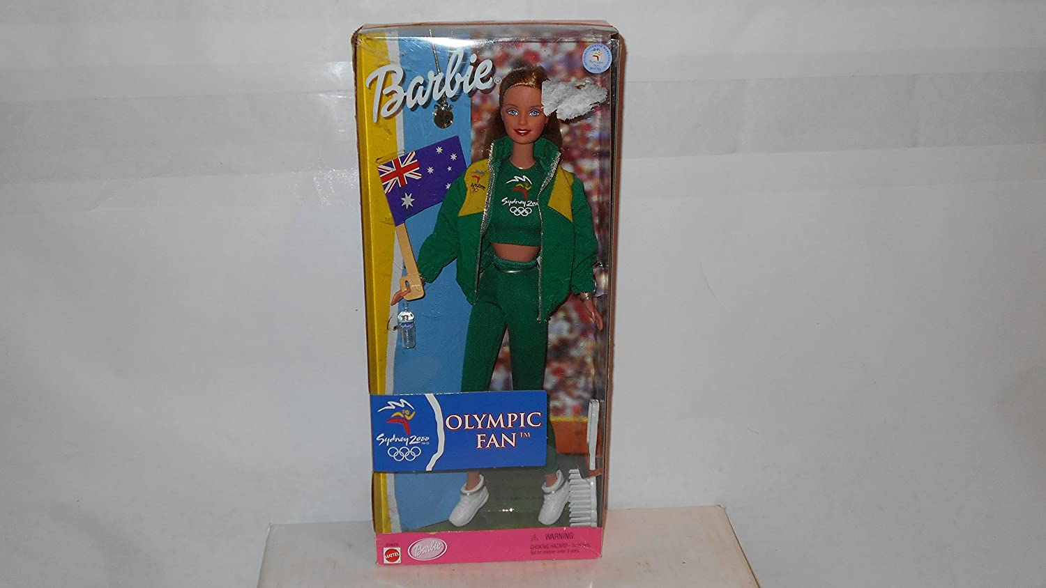 Sydney 2000 Olympic Games Fan Barbie Doll with British Flag