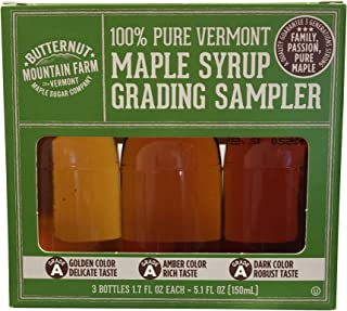 Vermont Maple Syrup Grading Sampler