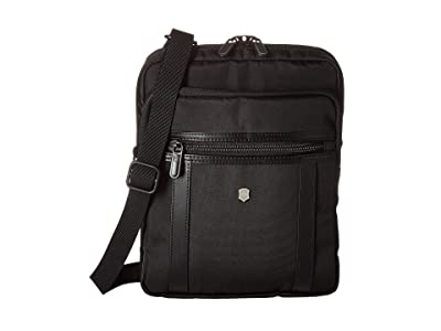 Victorinox Werks Professional 2.0 Crossbody Tablet Bag (Black) Bags