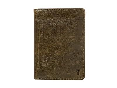 Frye Austin Passport Wallet (Pine) Handbags