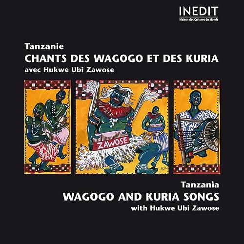 Chant wagogo: Mhilime magongo (chant / vocals, lamellaphones, vielles / fiddles)