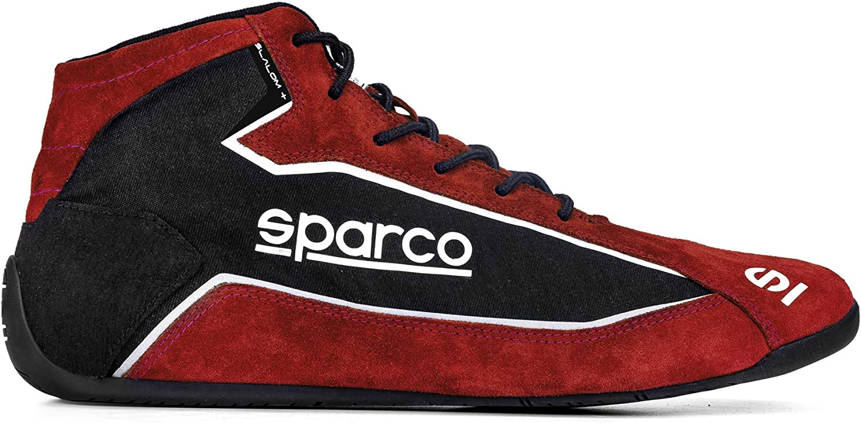 Sparco Slalom+ お買い得 Cloth Racing Shoes 001274F 38 Size: Black Red オーバーのアイテム取扱☆