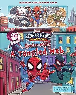 Marvel's Super Hero Adventures Spider-Man: A Tangled Web (Magnetic Hardcover)