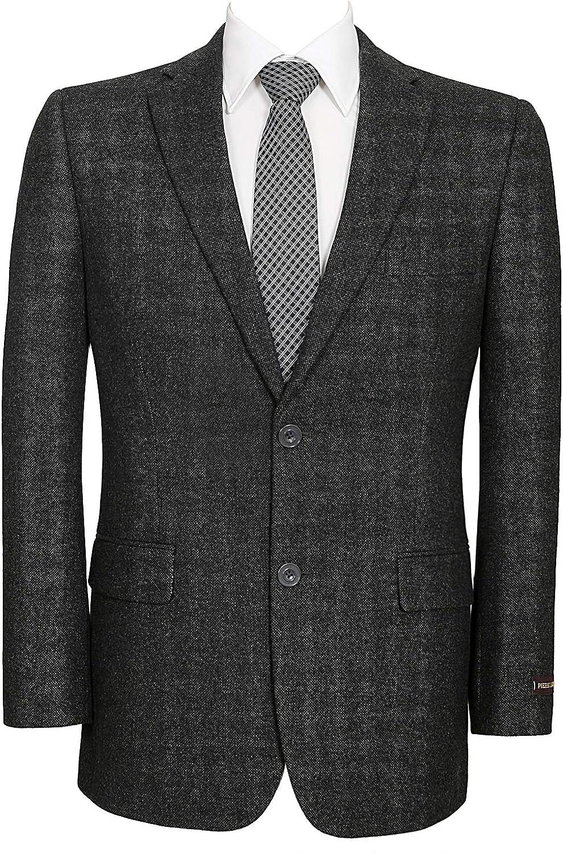 Pio Lorenzo Men's Modern Suit 国内即発送 Jacket Sport Coat お買得 Wool Class Blend
